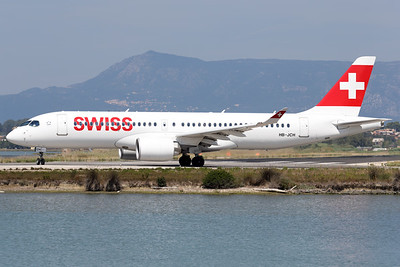 HB-JCH | Bombardier C Series CS300 | Swiss International Air Lines