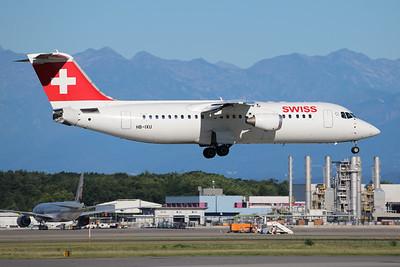 HB-IXU | Avro RJ100 | Swiss International Air Lines