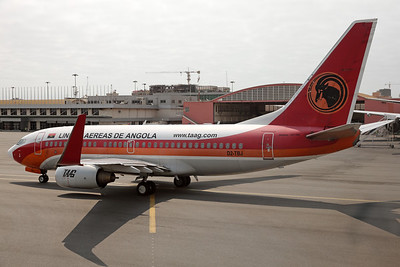 D2-TBJ   Boeing 737-7M2   TAAG Angola Airlines