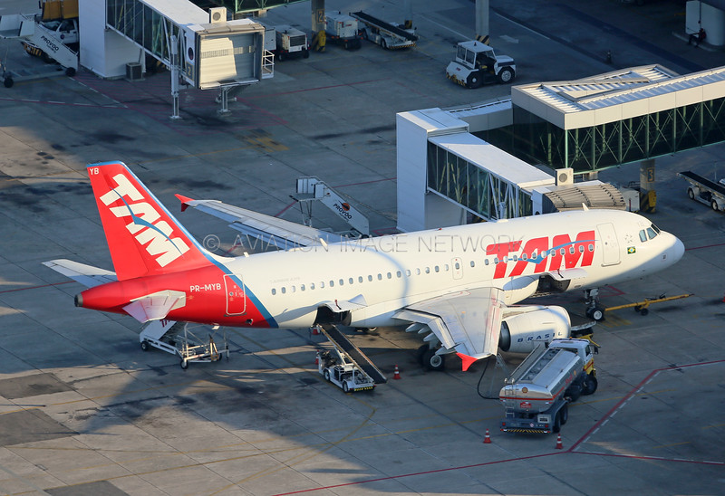 PR-MYB | Airbus A319-112 | TAM Airlines