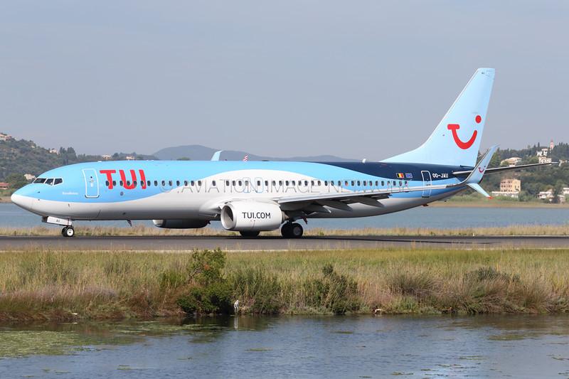 OO-JAU | Boeing 737-8K5 | TUI Airlines Belgium