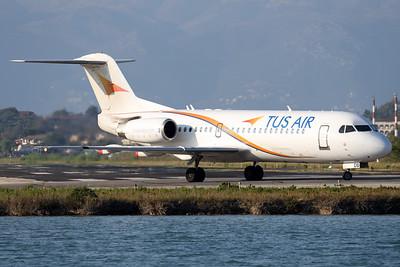 5B-DDB | Fokker 70 | TUS Airways