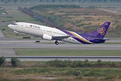 HS-TDG   Boeing 737-4D7   Thai Airways