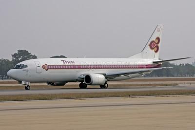 HS-TDD   Boeing 737-4D7   Thai Airways