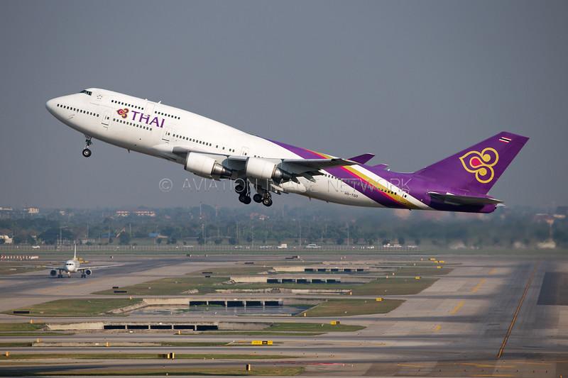 HS-TGO | Boeing 747-4D7 | Thai Airways