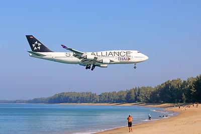 HS-TGW   Boeing 747-4D7   Thai Airways
