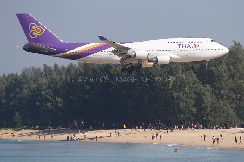 HS-TGX | Boeing 747-4D7 | Thai Airways