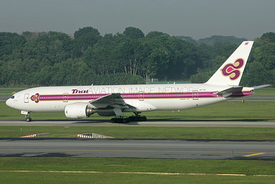 HS-TJG | Boeing 777-2D7 | Thai Airways
