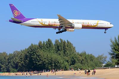 HS-TKF | Boeing 777-3D7 | Thai Airways