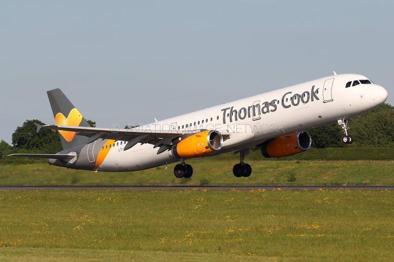 LY-VEH | Airbus A321-231 | Thomas Cook