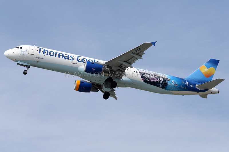 G-TCDA | Airbus A321-211 | Thomas Cook Airlines