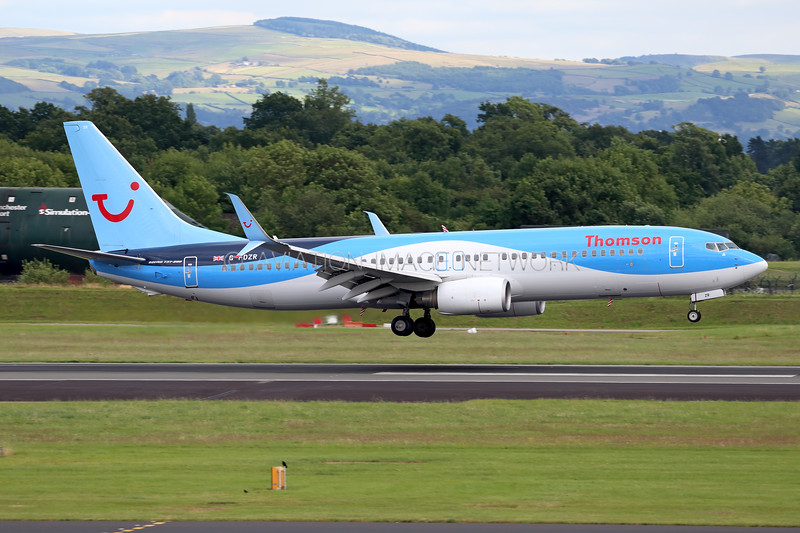 G-FDZR | Boeing 737-8K5 | Thomson Airways