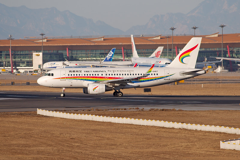 B-6467   Airbus A319-115   Tibet Airlines