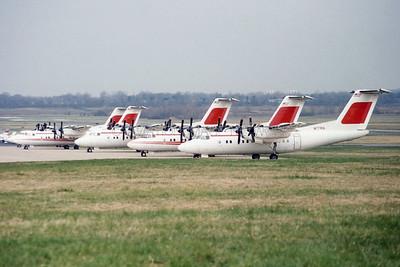 N177RA | De Havilland Canada DHC-7-102 | Trans World Express