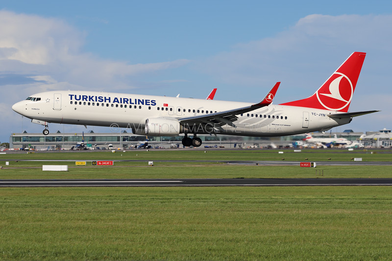 TC-JYN | Boeing 737-9F2/ER | Turkish Airlines