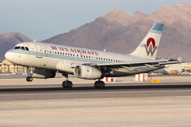N828AW | Airbus A319-132 | US Airways