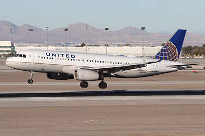 N461UA | Airbus A320-232 | United Airlines