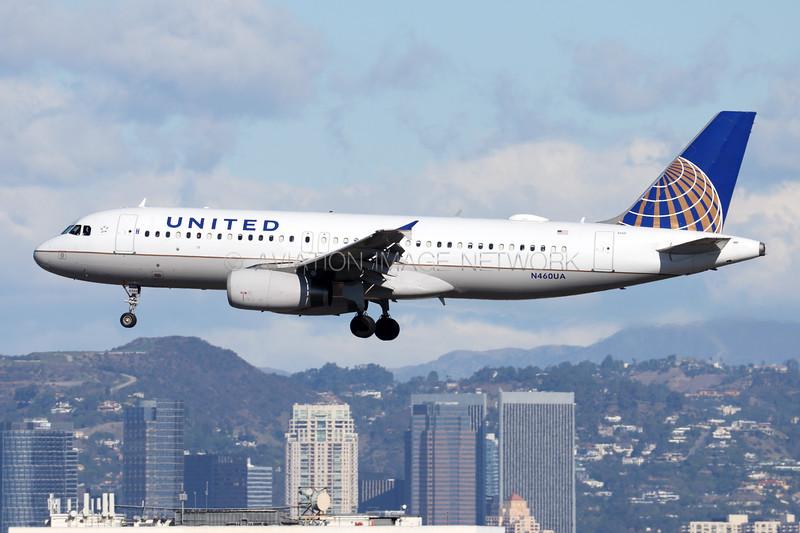 N460UA   Airbus A320-232   United Airlines