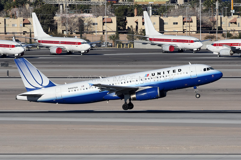 N487UA | Airbus A320-232 | United Airlines
