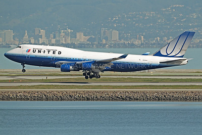 N120UA | Boeing 747-422 | United Airlines