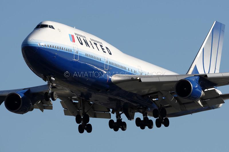 N174UA | Boeing 747-422 | United Airlines