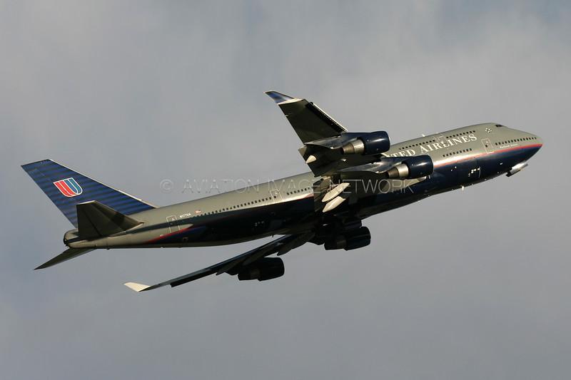 N177UA   Boeing 747-422   United Airlines