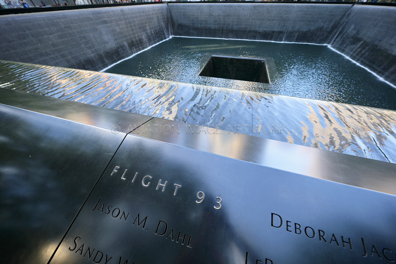 September 11 South Pool Memorial | United Airlines Flight 93
