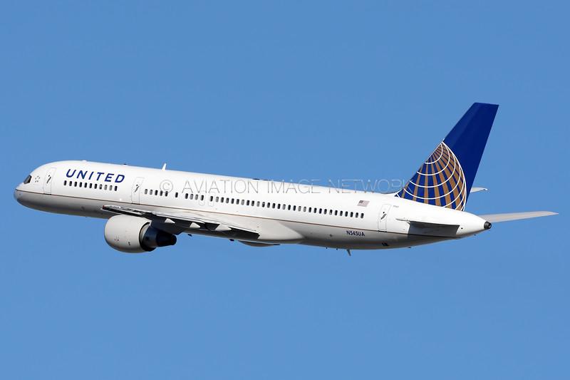 N545UA | Boeing 757-222 | United Airlines