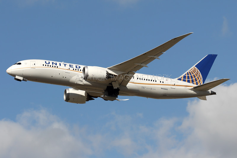 N45905 | Boeing 787-8 | United Airlines
