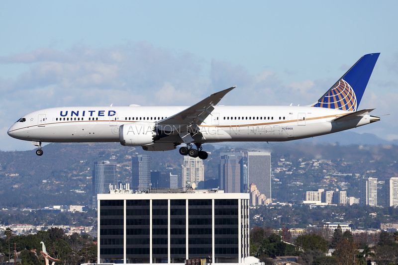 N29968 | Boeing 787-9 | United Airlines