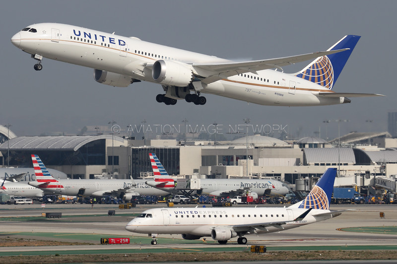 N15969 | N110SY | Boeing 787-9 | Embraer ERJ-175LR | United Airlines | United Express (SkyWest Airlines)