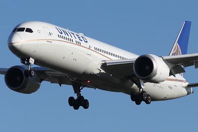 N15969 | Boeing 787-9 | United Airlines