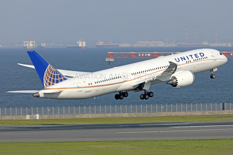 N38955 | Boeing 787-9 | United Airlines