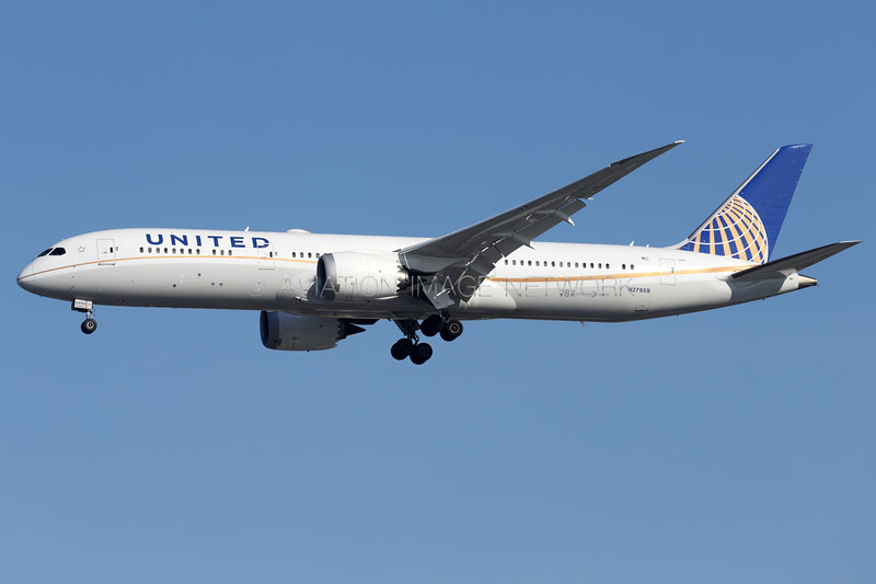 N27959 | Boeing 787-9 | United Airlines