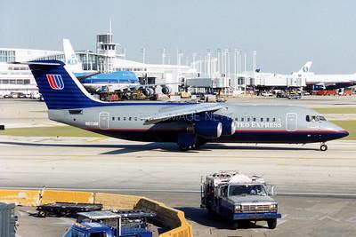 N611AW | British Aerospace BAe 146-300 | United Express