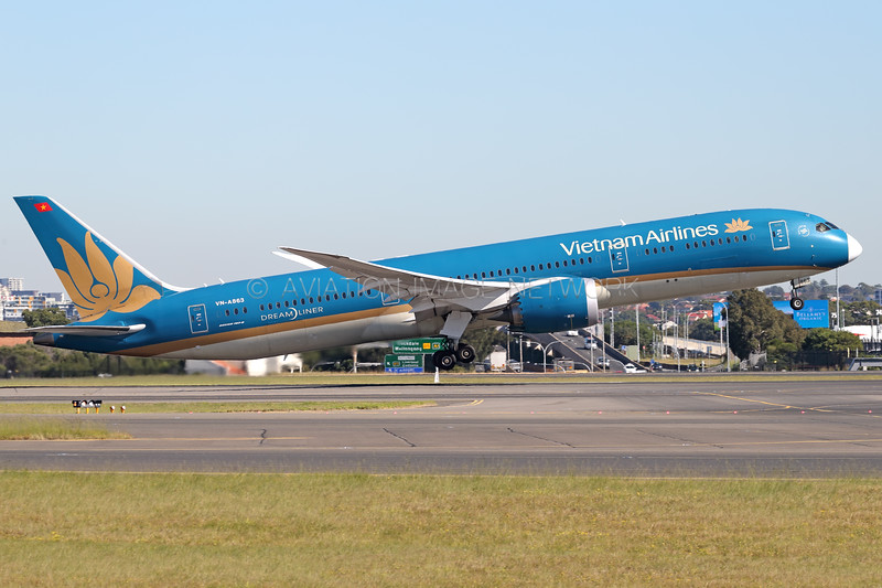 VN-A863 | Boeing 787-9 | Vietnam Airlines