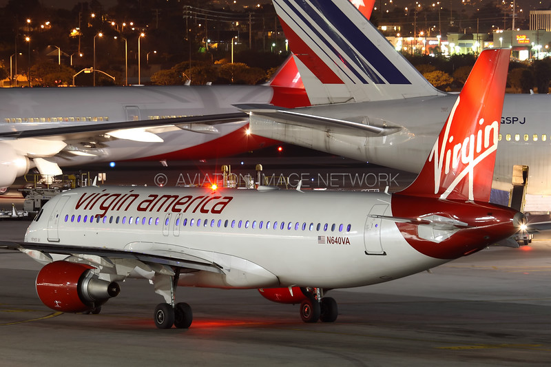 N640VA | Airbus A320-214 | Virgin America