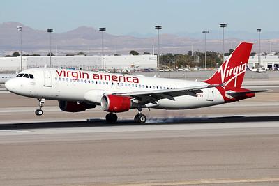 N627VA | Airbus A320-214 | Virgin America