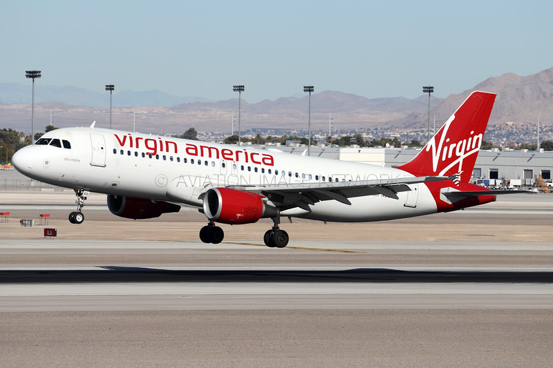 N631VA   Airbus A320-214   Virgin America