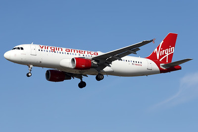 N840VA | Airbus A320-214 | Virgin America