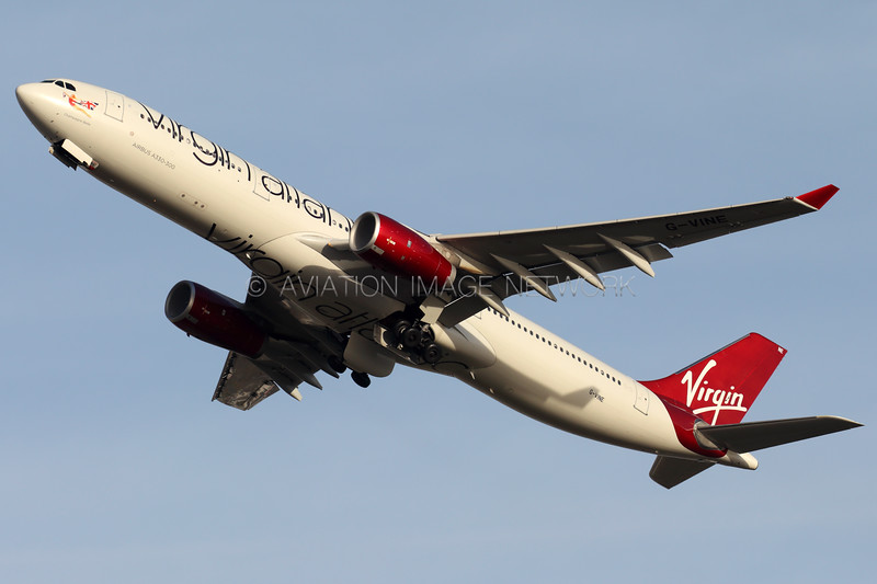 G-VINE   Airbus A330-343   Virgin Atlantic