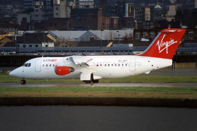 EI-JET   British Aerospace 146-200   CityJet / Virgin