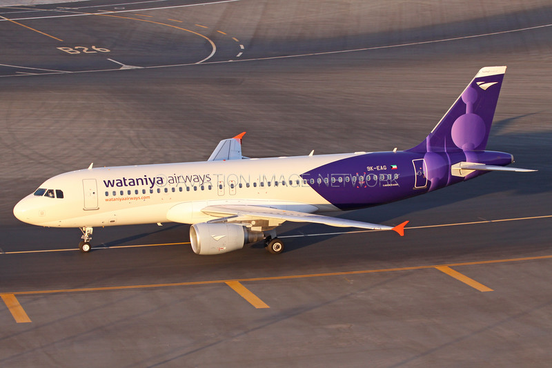 9K-EAG | Airbus A320-214 | Wataniya Airways