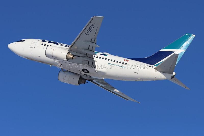 C-GWCY | Boeing 737-6CT | WestJet