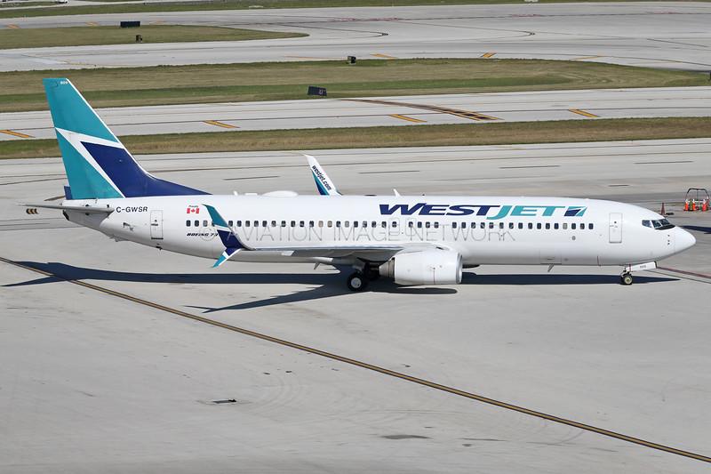 C-GWSR | Boeing 737-8CT | WestJet