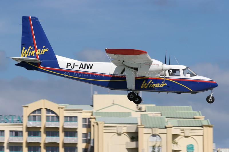 PJ-AIW | Britten-Norman BN-2A-26 Islander | Winair