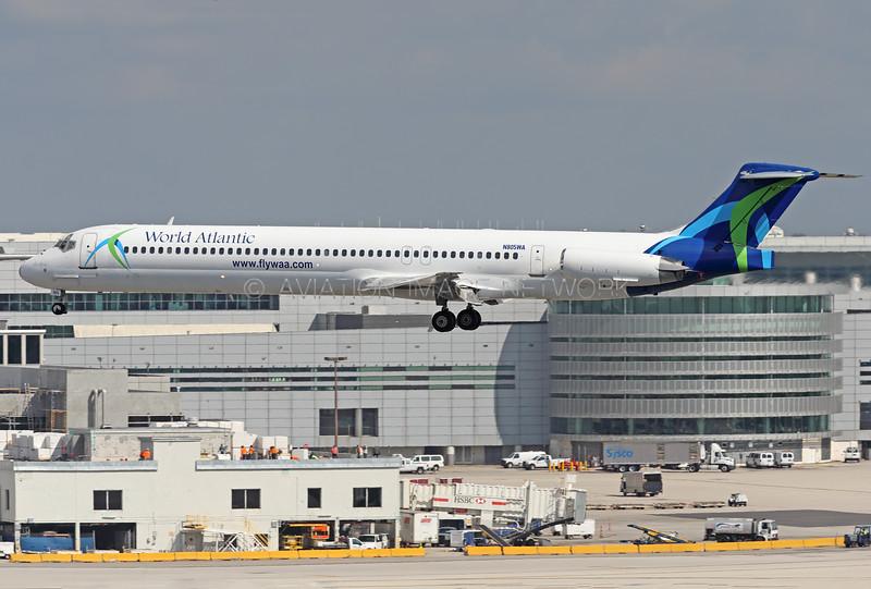 N805WA | McDonnell Douglas MD-83 | World Atlantic Airlines