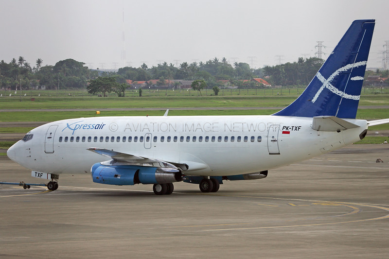 PK-TXF | Boeing 737-284 | Xpress Air