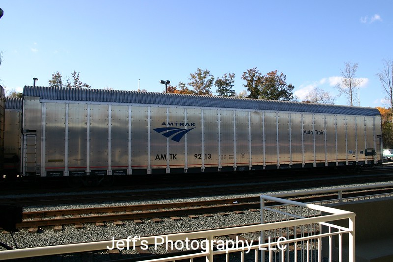 Amtrak 90' Aluminum Vehicle Carrier No. 9213