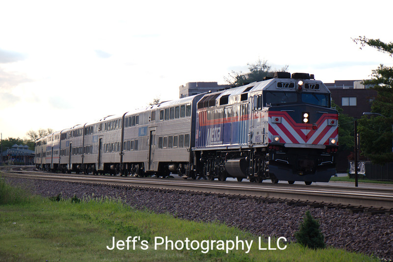 Metra Commuter Train 15